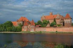 Castillo de Malbork, Polonia Imagen de archivo