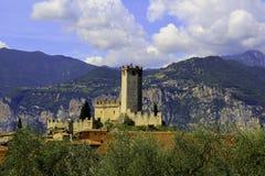 Castillo de Malcesine Imagen de archivo