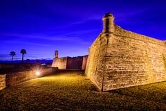 castillo de marcos monumentnational san royaltyfri bild