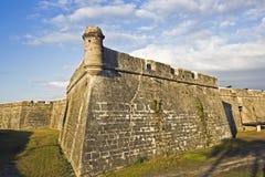 castillo de marcos san arkivfoto