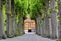 Castillo de Marienlyst, Dinamarca fotografía de archivo