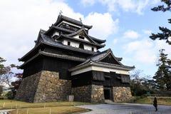 Castillo de Matsue fotografía de archivo libre de regalías