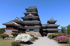 Castillo de Matsumoto Foto de archivo libre de regalías