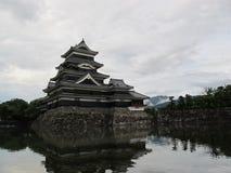 Castillo de Matsumoto Imagen de archivo libre de regalías