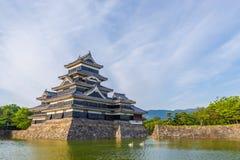 Castillo de Matsumoto Imágenes de archivo libres de regalías