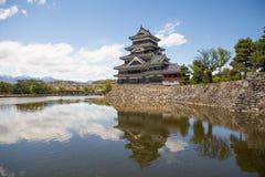 Castillo de Matsumoto Fotos de archivo libres de regalías