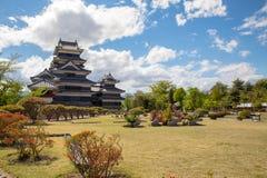 Castillo de Matsumoto Fotos de archivo