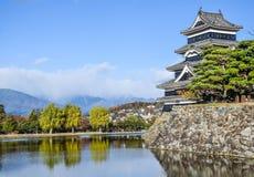 Castillo de Matsumoto en Japón Imagen de archivo