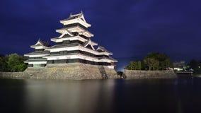 Castillo de Matsumoto en Matsumoto, Japón Foto de archivo libre de regalías