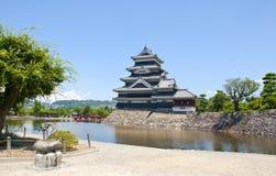 Castillo de Matsumoto, Japón Imagen de archivo libre de regalías