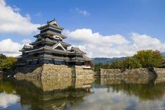 Castillo de Matsumoto Japón fotos de archivo libres de regalías
