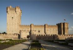 Castillo de Medina del Campo Fotos de archivo