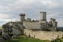 Castillo de Medival Imagen de archivo libre de regalías