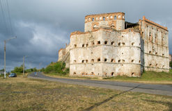 Castillo de Medzhybizh, Ucrania Fotografía de archivo
