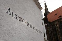 Castillo de Meissen Foto de archivo