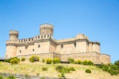 Castillo de Mendoza Fotos de archivo libres de regalías