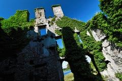 Castillo de Menlo, Irlanda Fotos de archivo libres de regalías