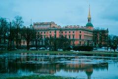 Castillo de Mikhailovsky Foto de archivo