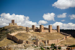 Castillo de Molina de Aragon Fotografie Stock Libere da Diritti