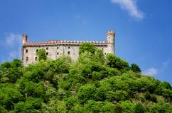 Castillo de Montaldo Dora Foto de archivo libre de regalías