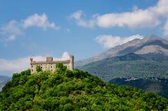 Castillo de Montaldo Dora Fotografía de archivo