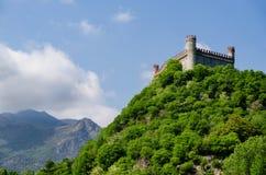 Castillo de Montaldo Dora Foto de archivo