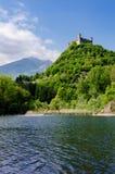 Castillo de Montaldo Dora Imágenes de archivo libres de regalías