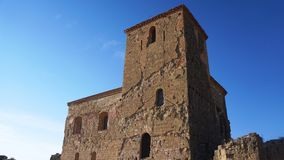 Castillo de Montearagon. The proud structure at Castillo de Montearagon Stock Photography
