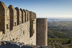 Castillo de Montgri Foto de archivo