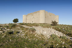 Castillo de Montgri Imagen de archivo