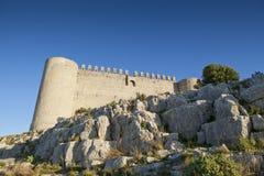 Castillo de Montgri Fotos de archivo