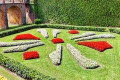 Castillo De Montjuic w Barcelona Obraz Stock