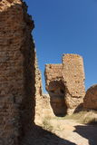 Castillo de Montuenga de Soria, Spain Royalty Free Stock Images