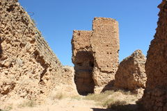 Castillo de Montuenga de Soria, Spain Stock Image