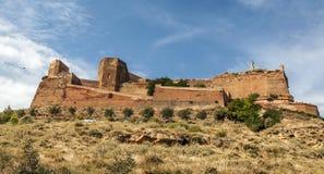 Castillo de Monzon Foto de archivo libre de regalías