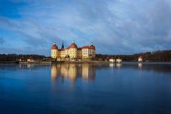 Castillo de Moritzburg Fotos de archivo libres de regalías