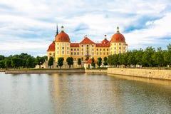 Castillo de Moritzburg imágenes de archivo libres de regalías