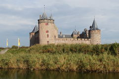 Castillo de Muiden, Muiderslot - castillo medieval imágenes de archivo libres de regalías