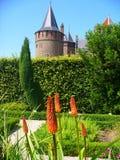 Castillo de Muiderslot fotos de archivo