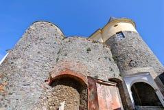Castillo de Mukachevo Foto de archivo libre de regalías