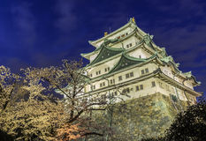 Castillo 9 de Nagoya Fotos de archivo libres de regalías