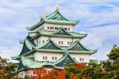 Castillo de Nagoya en Japón Imágenes de archivo libres de regalías