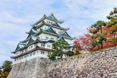 Castillo de Nagoya en Japón Foto de archivo libre de regalías