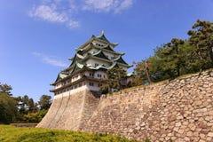 Castillo de Nagoya, Japón Foto de archivo libre de regalías