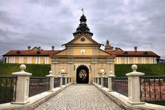 Castillo de Nesvizh Imágenes de archivo libres de regalías