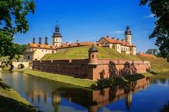 Castillo de Nesvizh, Bielorrusia Imágenes de archivo libres de regalías