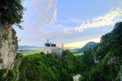 Castillo de Neuschwanstein fotografía de archivo
