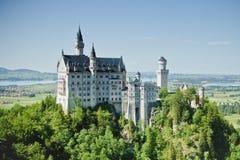 Castillo de Neuschwanstein Fotos de archivo libres de regalías