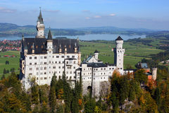 Castillo de Neuschwanstein, Alemania Imágenes de archivo libres de regalías