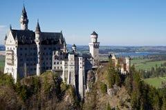 Castillo de Neuschwanstein, Baviera Foto de archivo libre de regalías